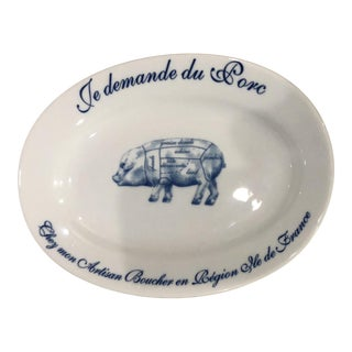 Williams-Sonoma French Pork Platter For Sale
