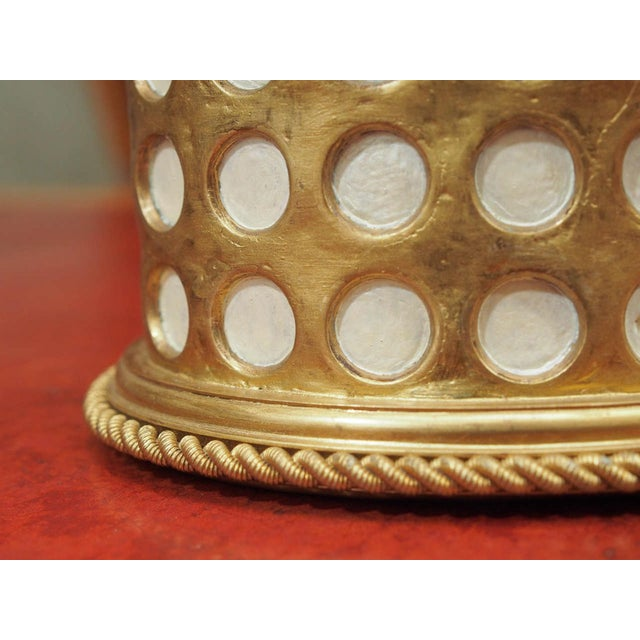"Charles X Gilt and Mosaic Jewlery Box, Signed ""Tahan, Paris"" - Image 6 of 8"