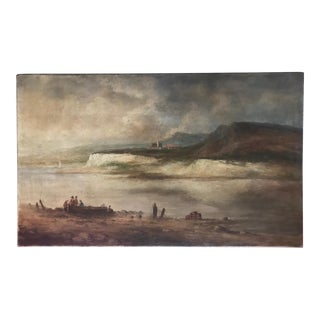 17th C. Dutch Old Master Painting, Studio of Jan Josefsz Van Goyen For Sale