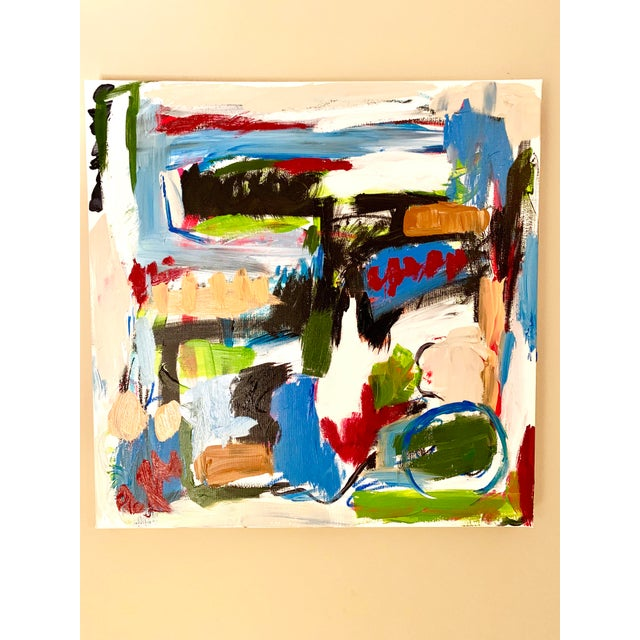 2010s Ebony Boyd Abstract Painting For Sale - Image 5 of 5