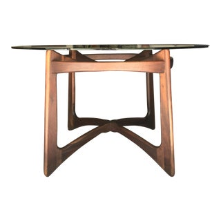 Adrian Pearsall Walnut Dining Table by Craft Associates For Sale