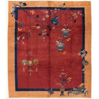 Apadana - Red Chinese Rug, 8' X 10' For Sale