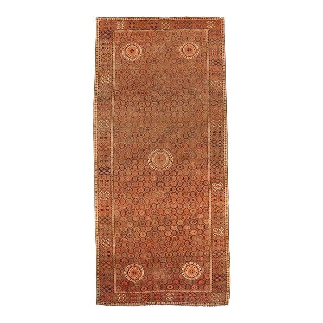 1920s Afghan Area Rug Bashir Design For Sale