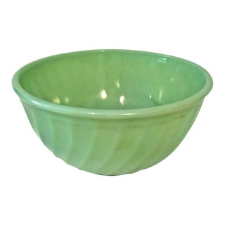 Jadeite Swirl Mixing Bowl For Sale