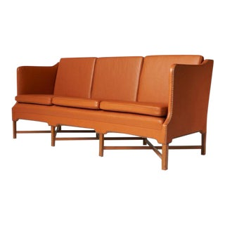 Kaare Klint Sofa Model #4118 by Rud Rasmussen For Sale