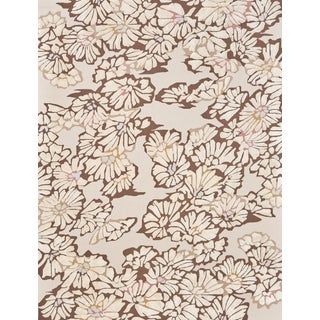 Schumacher Spiffy Area Rug in Hand-Tufted Wool Silk, Patterson Flynn Martin For Sale