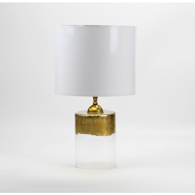 Lampshade Designs Small White High Gloss Drum Lamp Shade For Sale - Image 4 of 7