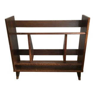 1950s Mid-Century Modern Bookcase For Sale