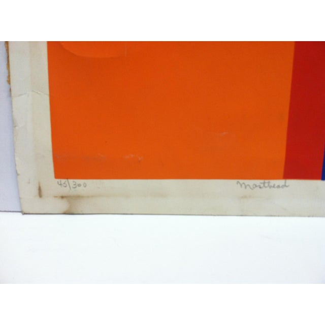 """Late 20th Century Late 20th Century """"Masthead"""" C. Lenard Limited Edition Signed & Numbered Print For Sale - Image 5 of 8"""