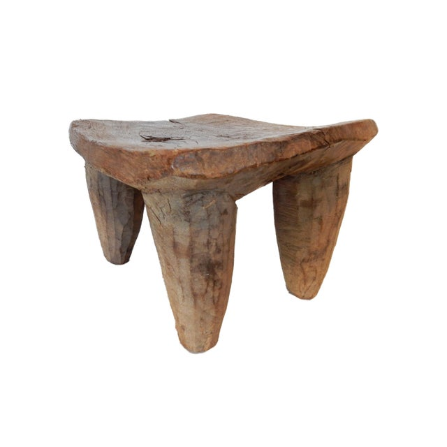 Vintage Senufo Low Milk Stool - Image 2 of 8