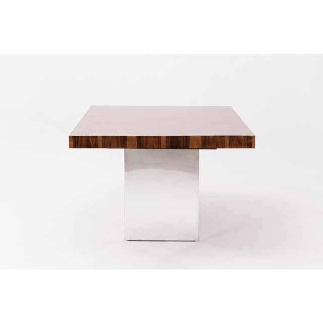 Thayer Coggin Milo Baughman Dining Table For Sale - Image 4 of 7