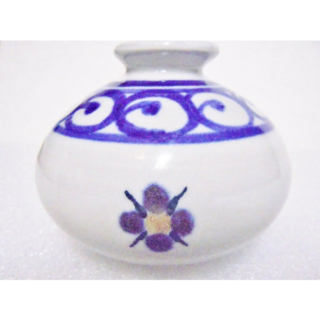 Paskal Pottery Floral Vases A Pair Chairish