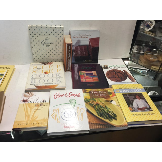 Decoratie Book Lot Cookbooks 22 Book Set For Sale - Image 4 of 6