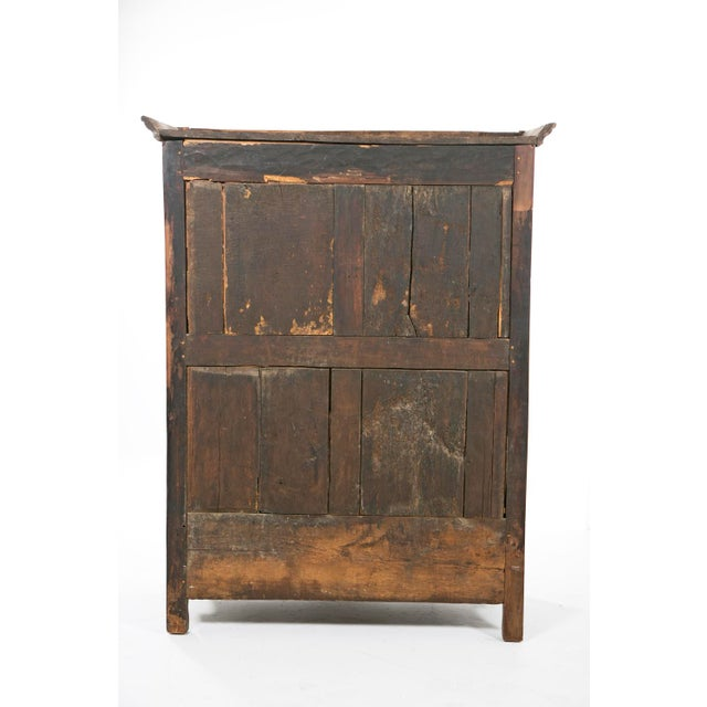 Early 19th Italian Century Rustic Oak Armoire For Sale - Image 10 of 11