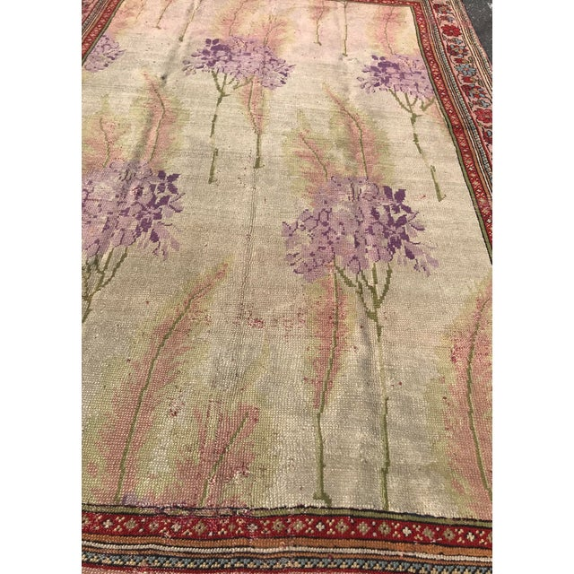 Textile Vintage Design Decorative Turkish Rug- 7′2″ × 10′ For Sale - Image 7 of 13