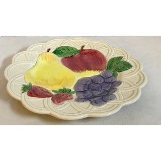 Vintage Japanese Hand Painted Ironstone Fruit Plate Preview