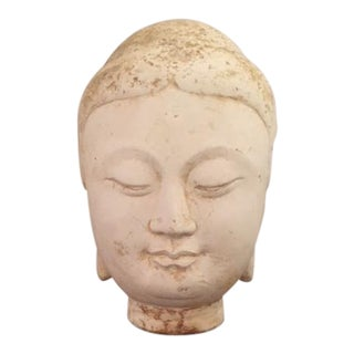 1960s Vintage Stone Buddha For Sale