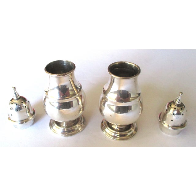 Sterling Silver Salt & Pepper Shakers - A Pair - Image 3 of 6