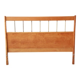Paul McCobb Planner Group Birch Full Size Headboard For Sale