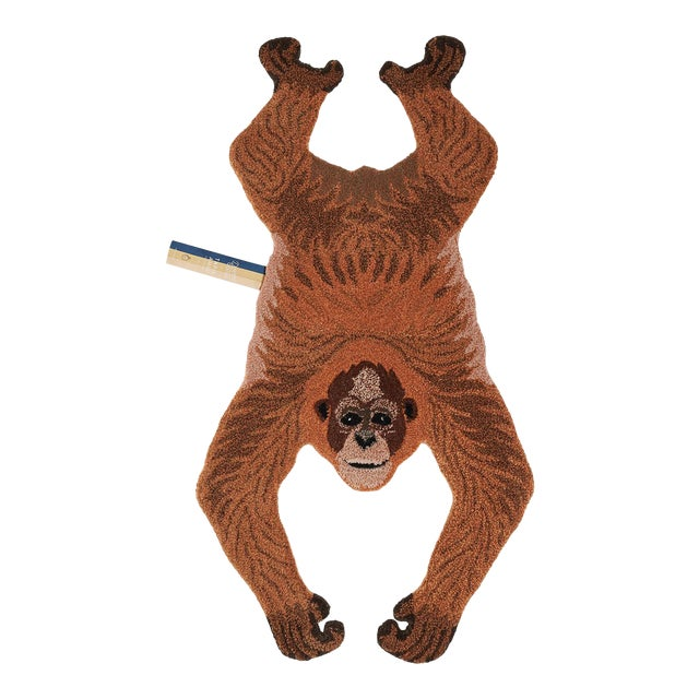 Doing Goods Oddly Orangutan Rug Small For Sale