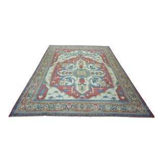 Turkish Anatolian Modern & Decorative Oushak Rug - 10′6″ × 15′8″