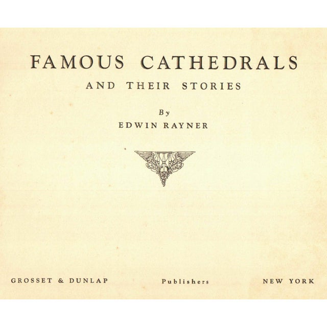 Famous Cathedrals and Their Stories Book - Image 2 of 4