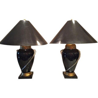 Frederick Cooper Chicago Table Lamps - a Pair