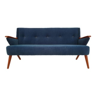 1950s Vintage Chresten Findahl Brodersen Danish Sofa For Sale