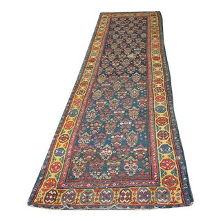 "Tribal NW Persian Runner Rug - 3'2"" x 12'10"""