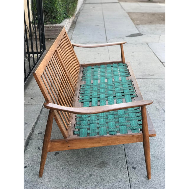 Mid Century 3 Seater Sofa For Sale - Image 4 of 12