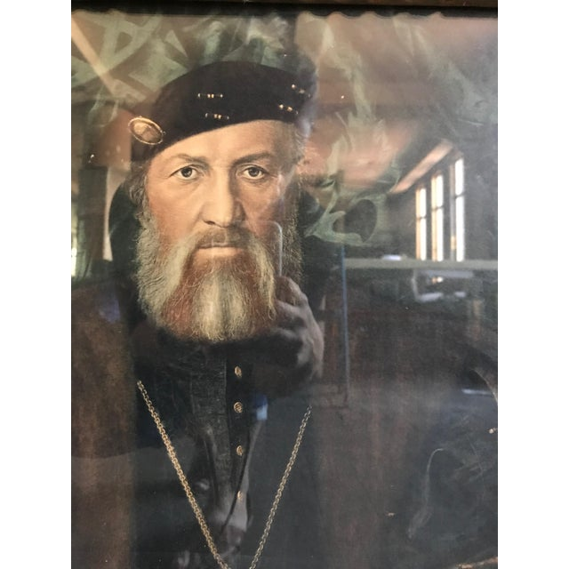 Framed Portrait of Henry XIII For Sale In San Francisco - Image 6 of 7