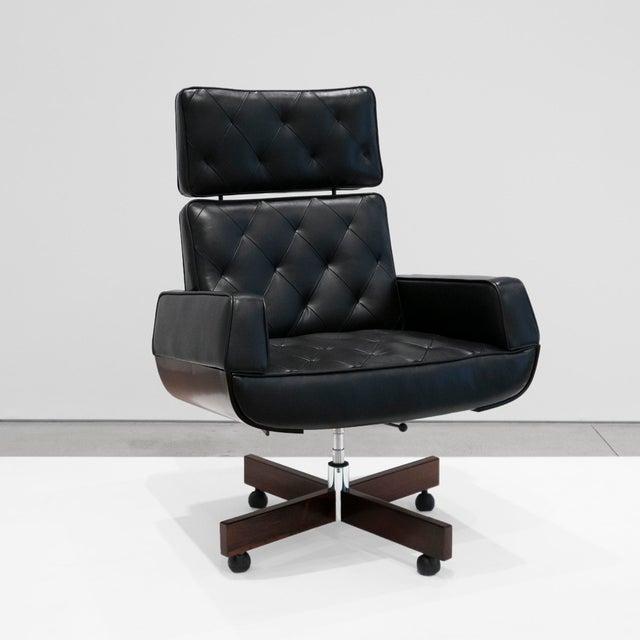 "1960s Jorge Zalszupin ""Ambassador"" Armchair, C. 1965 For Sale - Image 5 of 5"