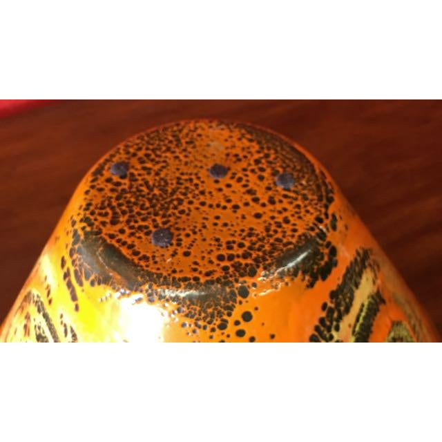 Mid-Century Enamel Centerpiece Bowl - Image 9 of 10