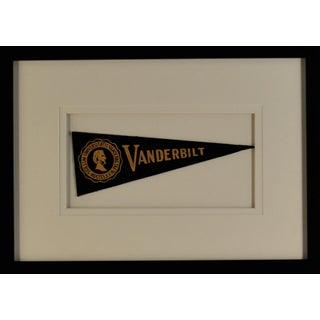 1970s Americana Vanderbilt University Pennant For Sale