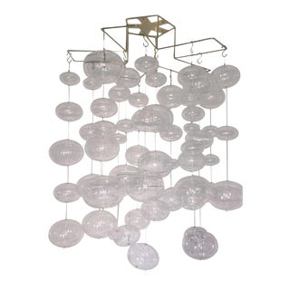 Floating Glass Bubble Mobile Ceiling Fixture