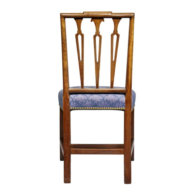 Federal Mahogany Side Chairs - Set of 4 For Sale - Image 9 of 10