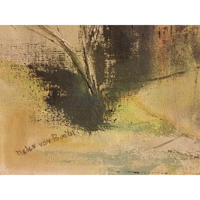 Mid-Century Impressionist Landscape Oil Painting - Image 4 of 6