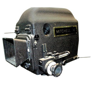 Original Mitchell Camera 16mm Camera Studio Blimp Housing. Circa 1940. Display As Sculpture. For Sale