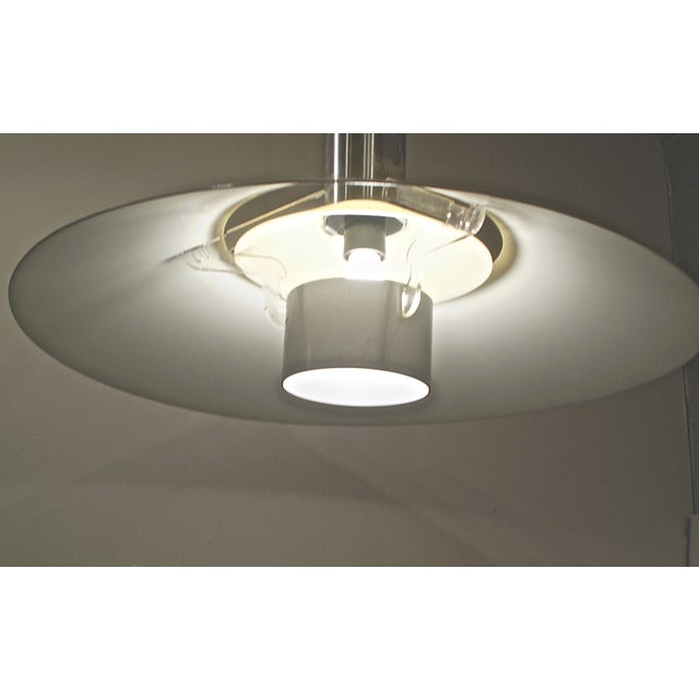 Vintage 1970s Modern Light Fixture - Image 4 of 4