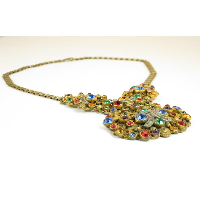 Victorian Austro-Hungarian Bejeweled Crystal Parure 1870s For Sale In Los Angeles - Image 6 of 13