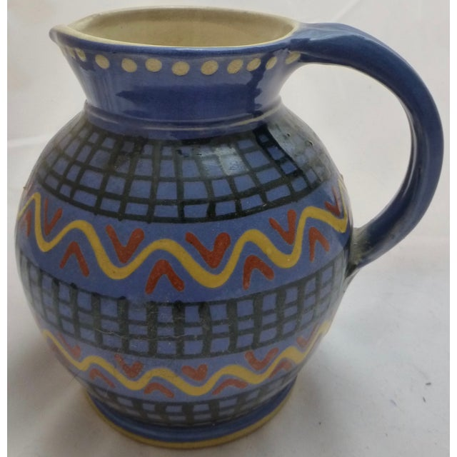 Mid-Century Italian Pottery Pitcher - Image 2 of 8