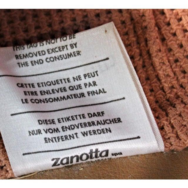 Rare Zanotta Italy Lounge Corner Chair - Image 4 of 4