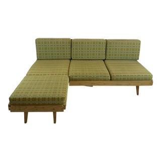 Vintage Tatra Nabytok Sofa Queen Sleeper Daybed For Sale