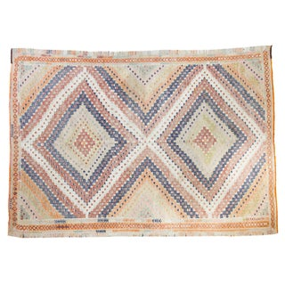 "Vintage Jijim Rug - 5'3"" X 7'4"" For Sale"