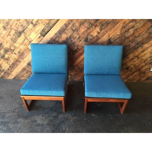 Mid Century Danish Lounge Chairs, Jacob Kjaer - 2 - Image 3 of 6