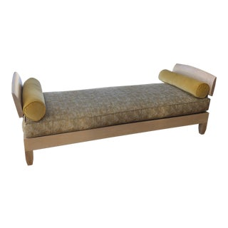 Modern Zak & Fox Fabric Chris Lehrecke Daybed For Sale