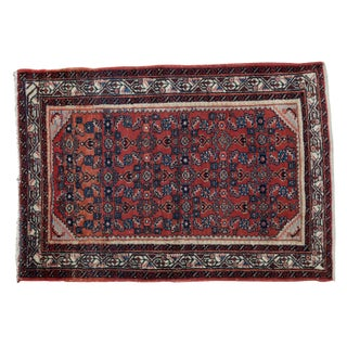 "Vintage Engelas Rug - 3'6"" X 4'11"" For Sale"