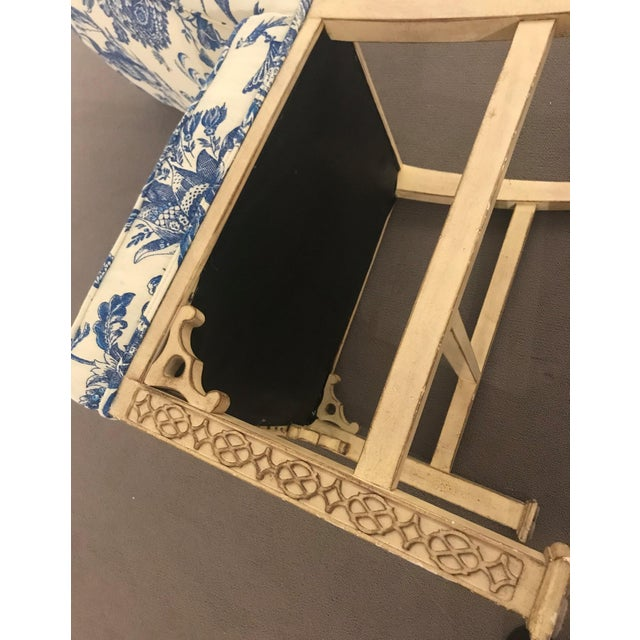 1990s Vintage Century Chinoiserie Chippendale Dining Chairs- Set of 8 For Sale - Image 10 of 11