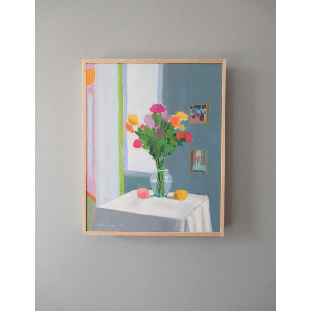 Anne Carrozza Remick Bouquet, Peach and Creamer by Anne Carrozza Remick For Sale - Image 4 of 5
