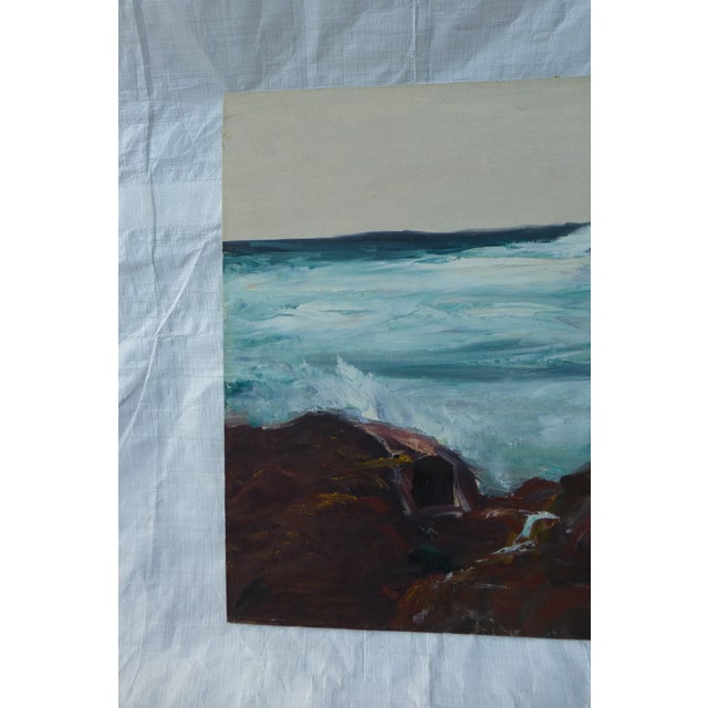 h.l. Musgrave Mid-Century Atlantic Ocean Painting - Image 3 of 7